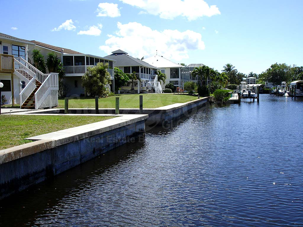 Captains Cove View of Canal